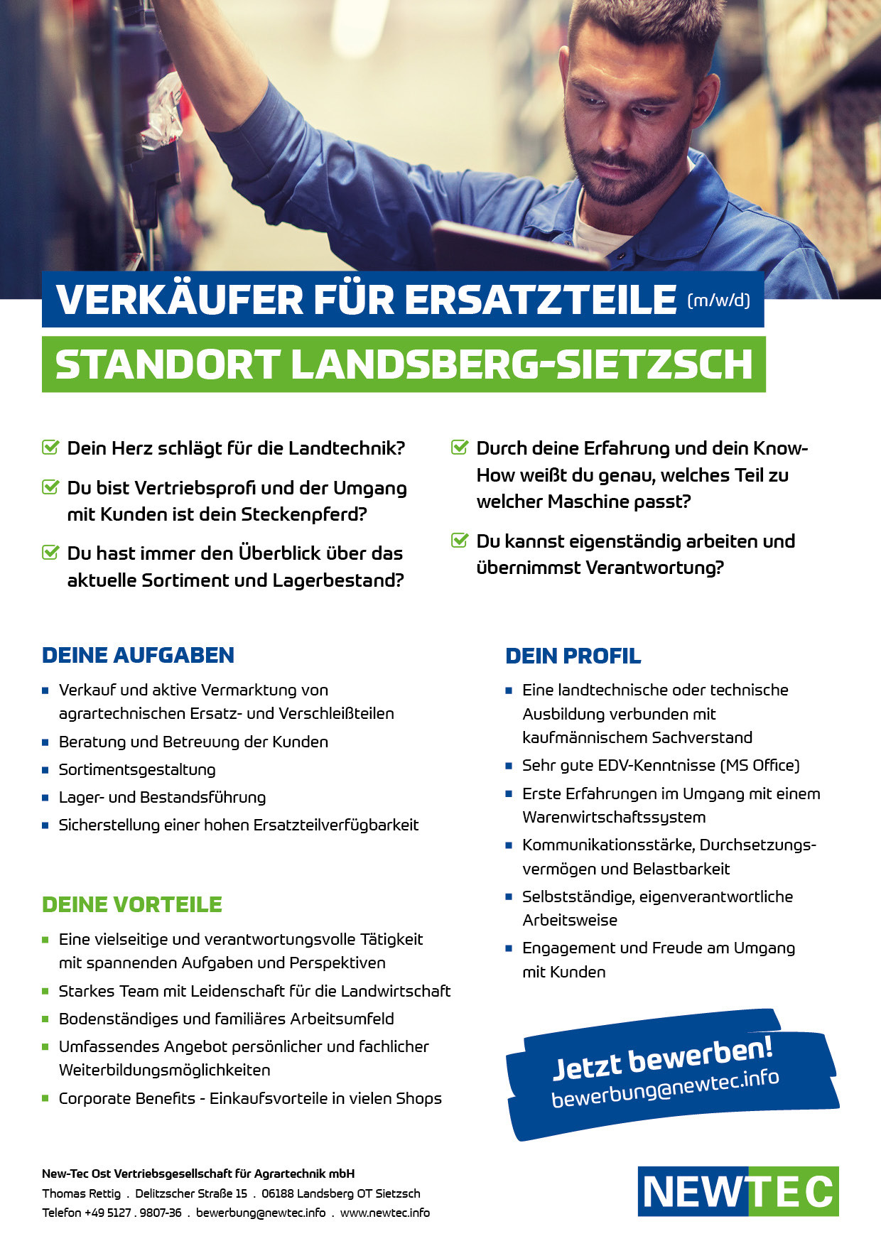 NEWTEC_Stellenanzeige_Verkaeufer-fuer-Ersatzteile_Landsberg-Sietzsch