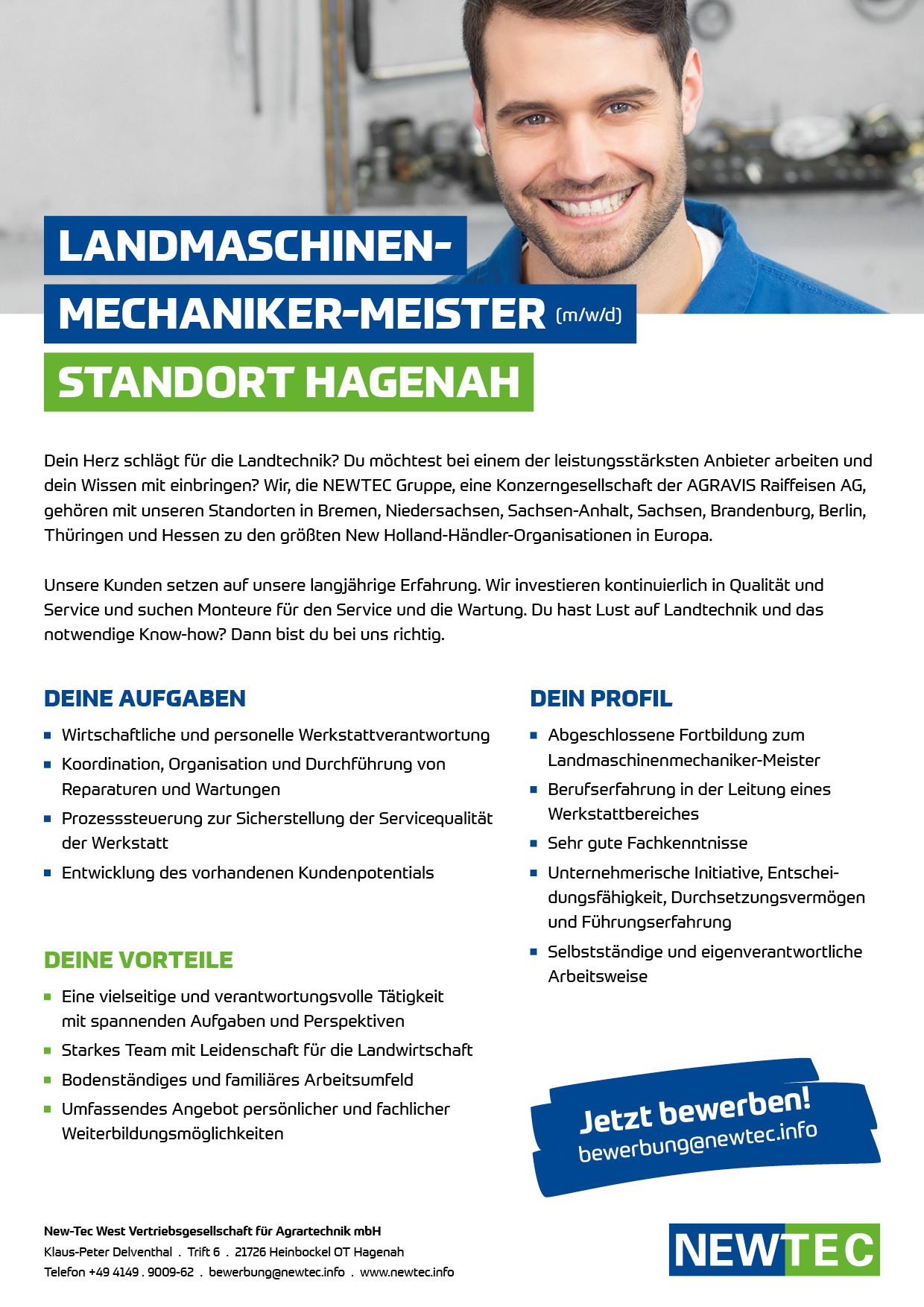 SCREEN TE-NTOST-20-28112 Personalanzeige_Landmaschinenmechaniker-Meister_Hagenah